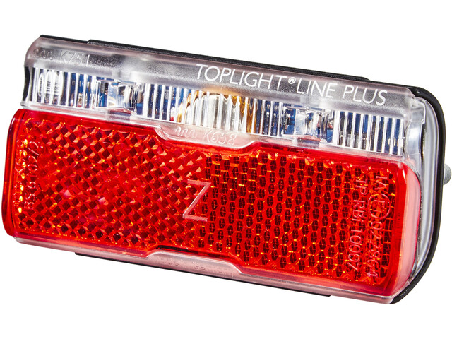 Busch + Müller Toplight Line Dynamo Rear Light with parking light 80 mm, black